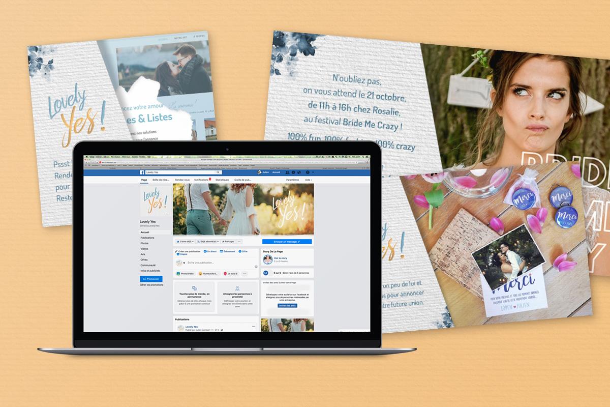gestion réseaux sociaux facebook instagram